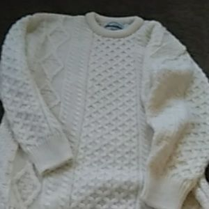 Irish Fisherman Knit Man's Sweater